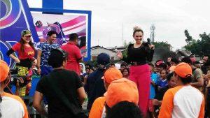 Sherly May Meriahkan Acara D Box Indosiar