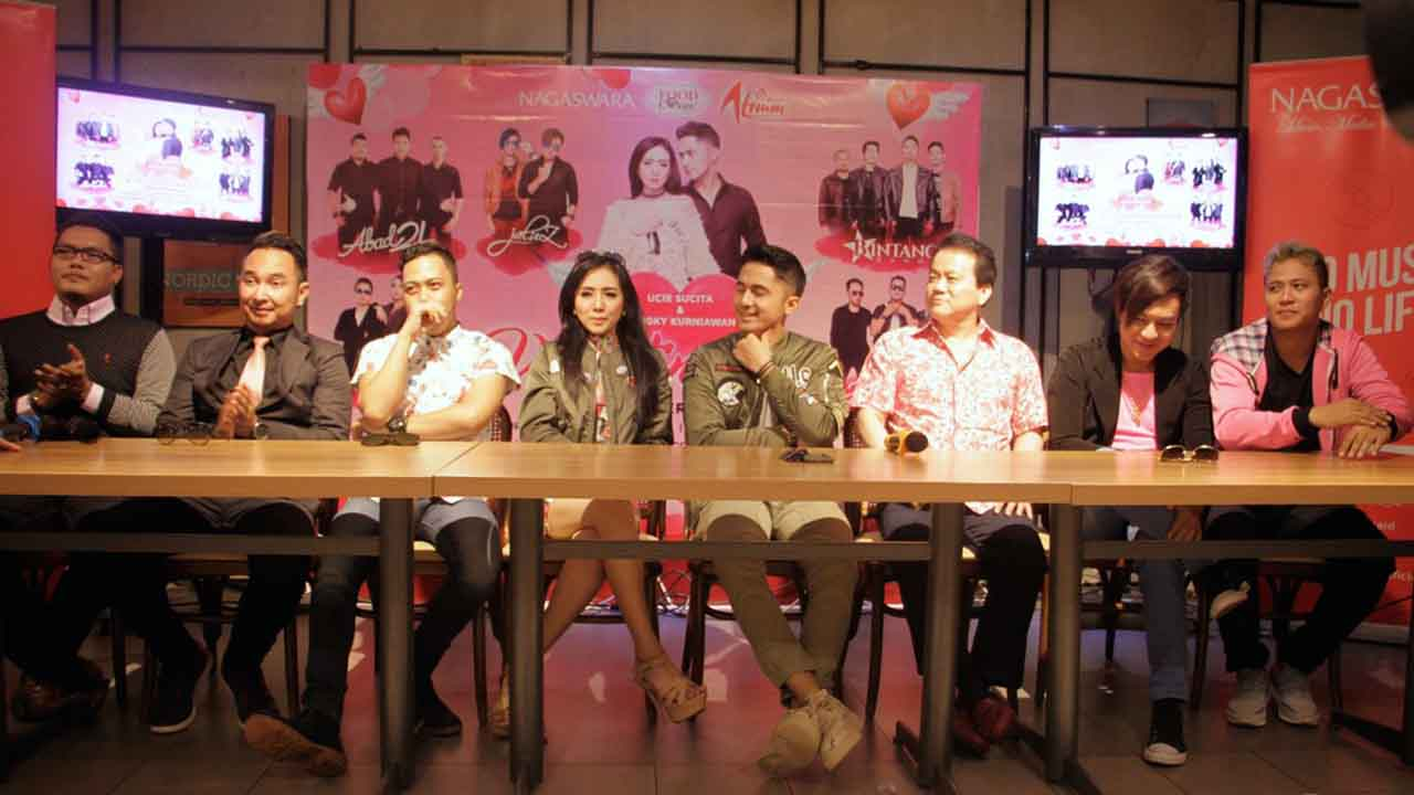 Valentination Launching Satu Duet Lima Band NAGASWARA