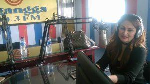Connie Nurlita Visit Radio Elgangga dan Wibawa Mukti