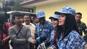 Zaskia Gotik, Neng Oshin dan Eddy Law Jadi Duta Bela Negara