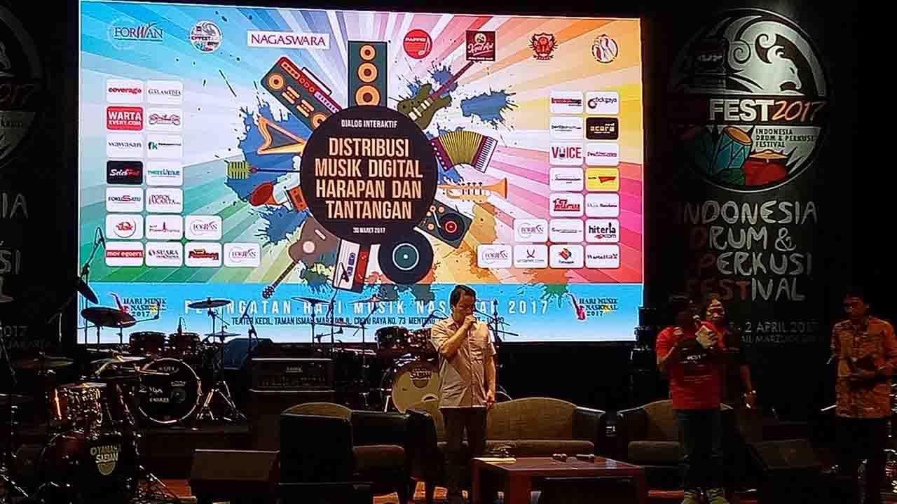 NAGASWARA dan Forwan Adakan Dialog Interaktif Hari Musik