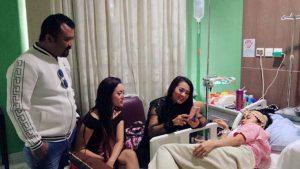 Neng Oshin, Fitri Carlina dan Eddy Law Jenguk Jupe