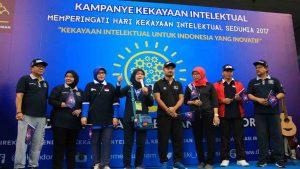 Sehatkan Masyarakat di Hari Kekayaan Intelektual Sedunia