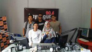 Arcybi Visit Radio RRI Pro 2 FM Palembang