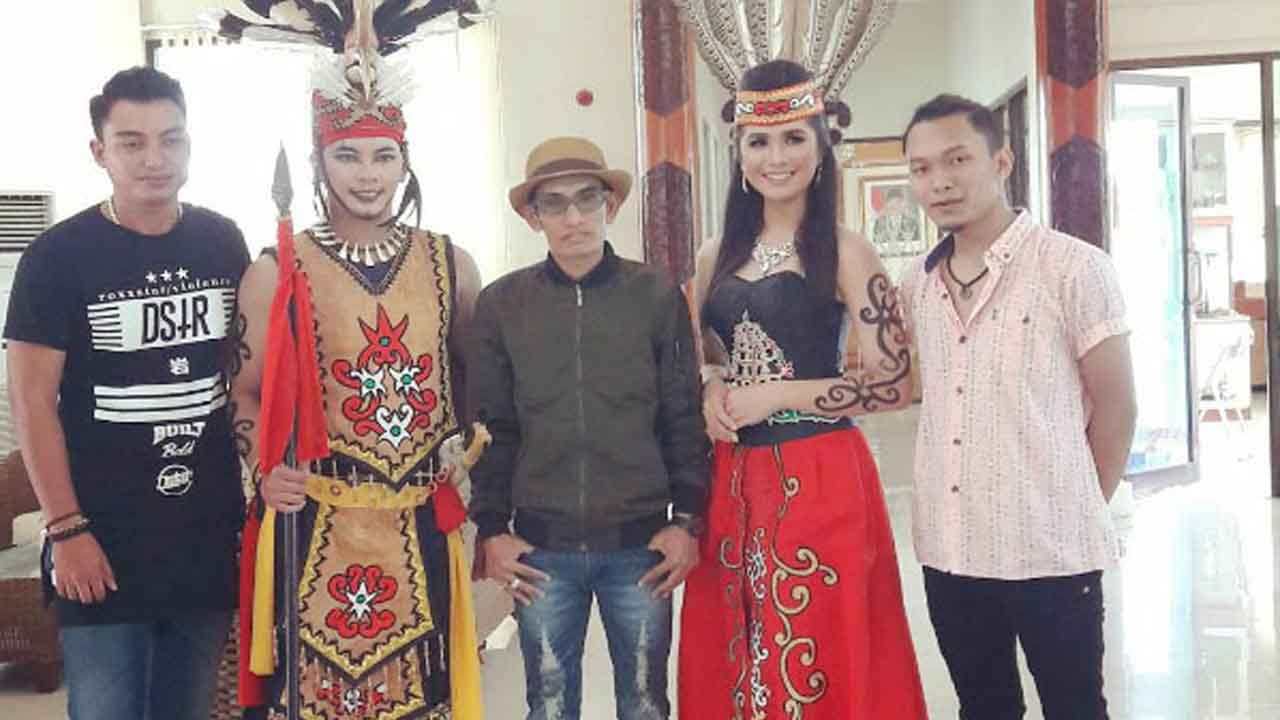 Dadang Nekad Kedepankan Budaya Kalimantan Tengah