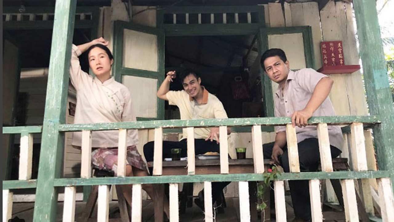 Delon Main Film Layar Lebar di Kalimantan