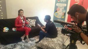 Fitri Carlina Live Streaming di Aplikasi Yogrt