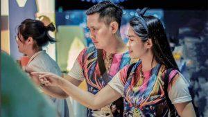 Fitri Carlina Bareng Suami Bikin Video di Instagram