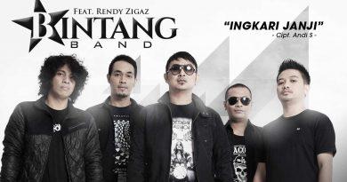 Single Terbaru BINTANG BAND Ft RENDY ZIGAZ Berjudul INGKARI JANJI