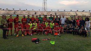 Dadang Nekad Karya untuk Tim Sepak Bola Kalteng Putra