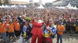 Ratu Idola Goyang Pistol Buat Pecinta Hidup Sehat