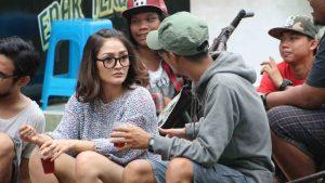 Siti Badriah Syuting Klip Single Nasib Orang Miskin