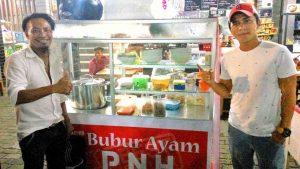 Okky Drumer KK Band Bisnis Bubur Ayam
