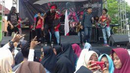 KK Band Hadir di SMA Negeri 1 Tambelang Bekasi