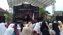 KK Band Hadir ke Sekolah Ajak Nikmati Musik Rock