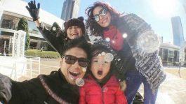 Baim Family Liburan ke Negeri Sakura