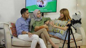 Hengky Kurniawan dan Sonya duet Sweet di Joox Chat