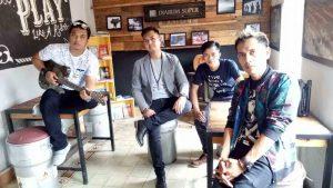 Merpati Band Syuting di Wisata Sejarah Banten Lama