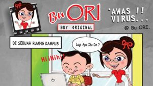 Bu Ori Awas Virus Aksi Bajakan Lewat Download