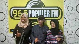 Dadang Nekad Visit Radio Purwakarta