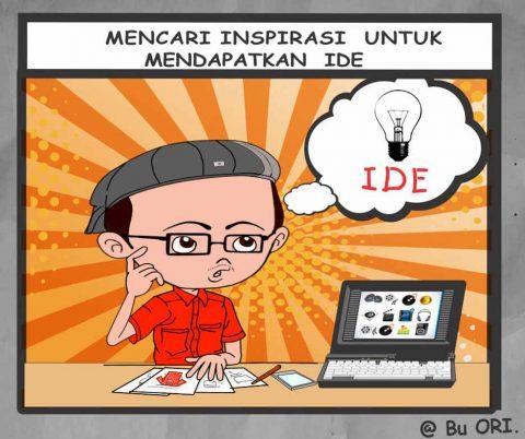 Mencari inspirasi untuk mendapatkan ide