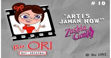 Zaskia Gotik Artis Jaman Now