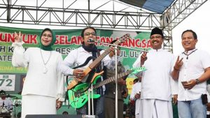Wali Band Gubah Lirik Untuk Dukung Pasangan Gus Ipul & Puti