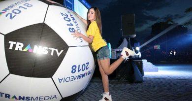 Chipi 2Naga Meriahkan Nobar Piala Dunia