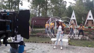 Connie Nurlita Pilih Syuting Video Klip di Malang