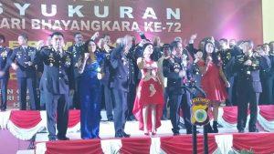 2Ratu's Meriahkan HUT Bhayangkara Ke-72 di Ambon