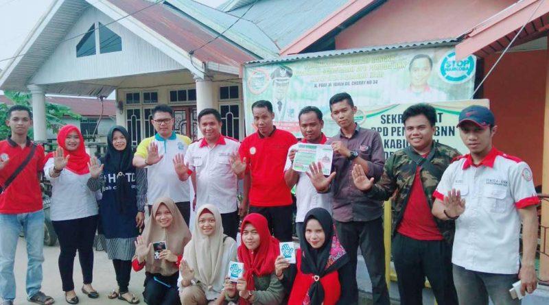 Andrigo Peringati Hari Anti Narkoba di Kampung Halaman