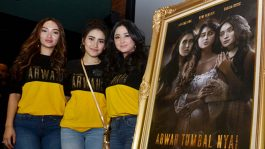 Akting Zaskia Gotik di Film Horor