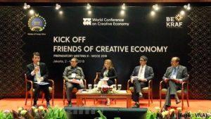 BEKRAF dan Kemenlu Gelar Konperensi Ekonomi Kreatif Pertama di Dunia