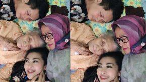 Suka Cita Fitri Carlina Kunjungi Neneknya yang Berumur 98 Tahun
