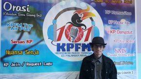 Dadang Nekad Visit Radio KPFM