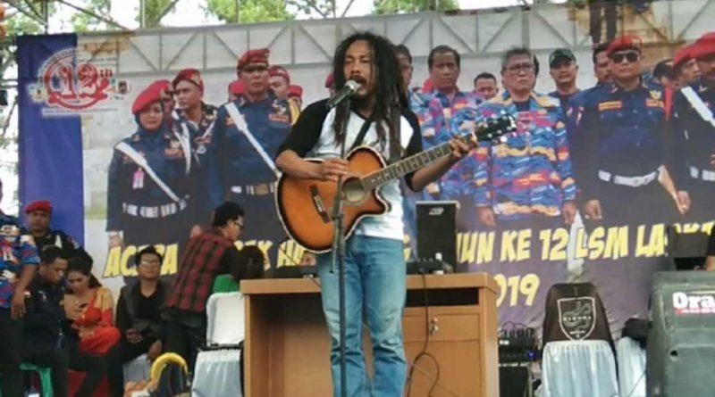 Mr.Ho Meriahkan Acara Laskar NKRI
