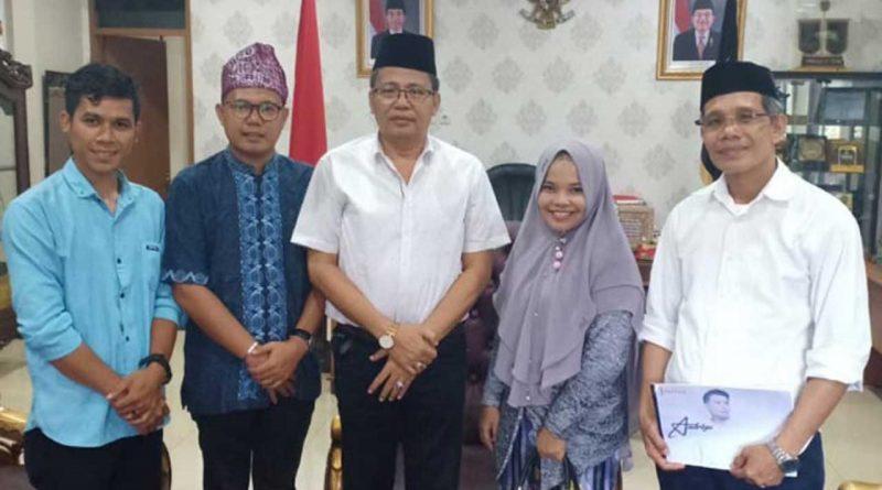 Andrigo Dapat Suport Dari Ketua LAMR- Riau