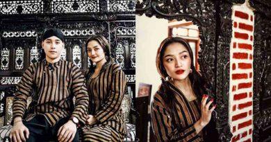 Siti Badriah Pamer Baju Jawi Sama Pacar