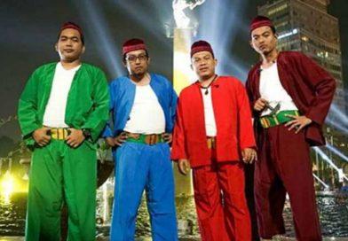 Wali Band Tampil Jadi Bang Jampang