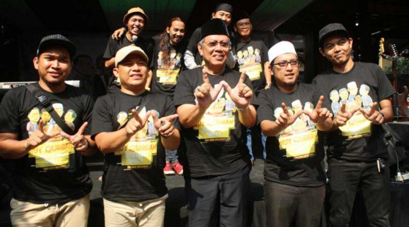 Band Wali Turut Rayakan Idul Adha dengan 5 Sapi dan 15 Kambing