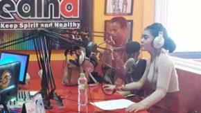 Mimie Fhara Ketagihan Visit Radio