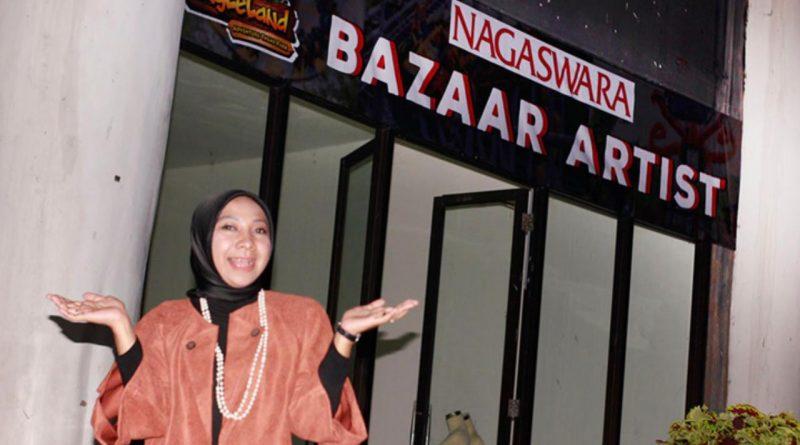 Gemala Mengikuti Bazar Bareng Out & Outer