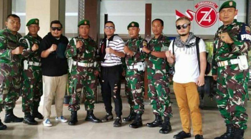 Manggung di Padang, ST12 Dapat Pengawalan Ketat TNI AD