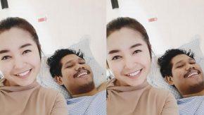 Dinda Permata Jenguk Penggemar yang Sakit di Malaysia