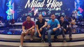 Merpati Band Sambut Milad Pertama HIPO Dukung Pengusaha Lokal