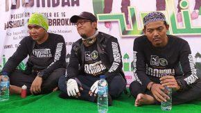 Wali Band Bersama Bikers Cari Berkah Resmikan Mushola di Lebak Banten