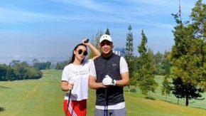 Bulan Puasa Zaskia Gotik & Suami Main Golf