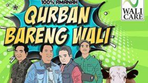 Ikutan Qurban Bareng Wali Band, 100 Persen Amanah!