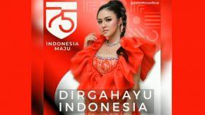Dari Malaysia, Baby Shima Ucap Dirgahayu Republik Indonesia!