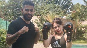 Agar Bugar dan Enerjik, Chacha Duo B Berlatih Muay Thai